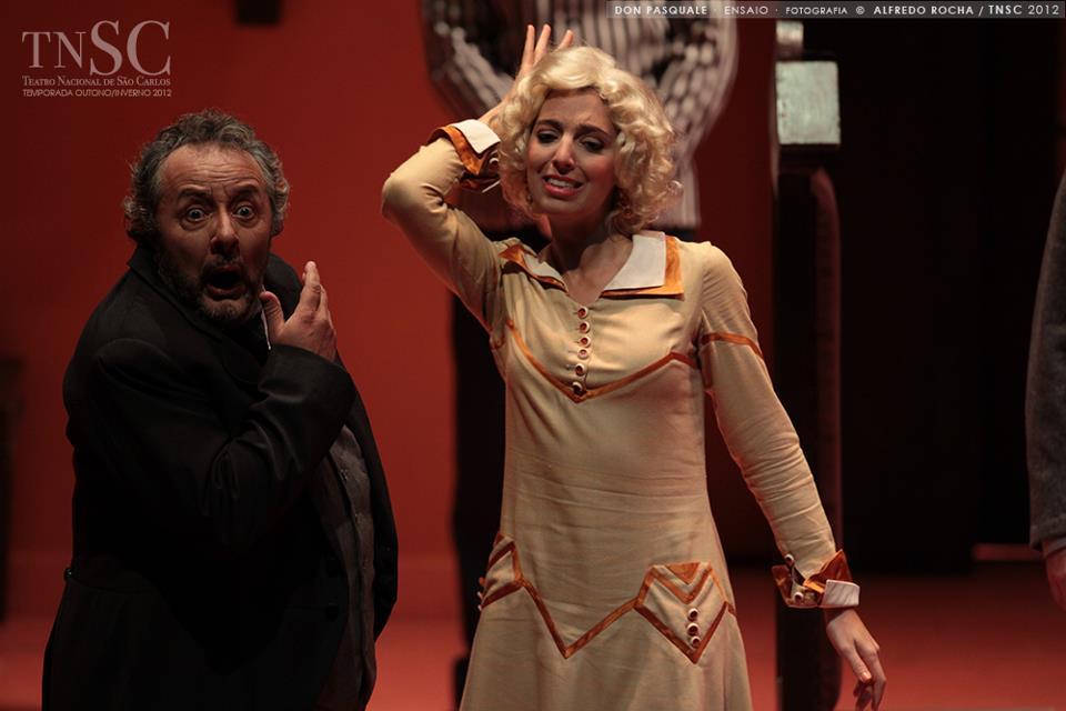 Donizetti, Don Pasquale. Teatro Nacional São Carlos, 2012
