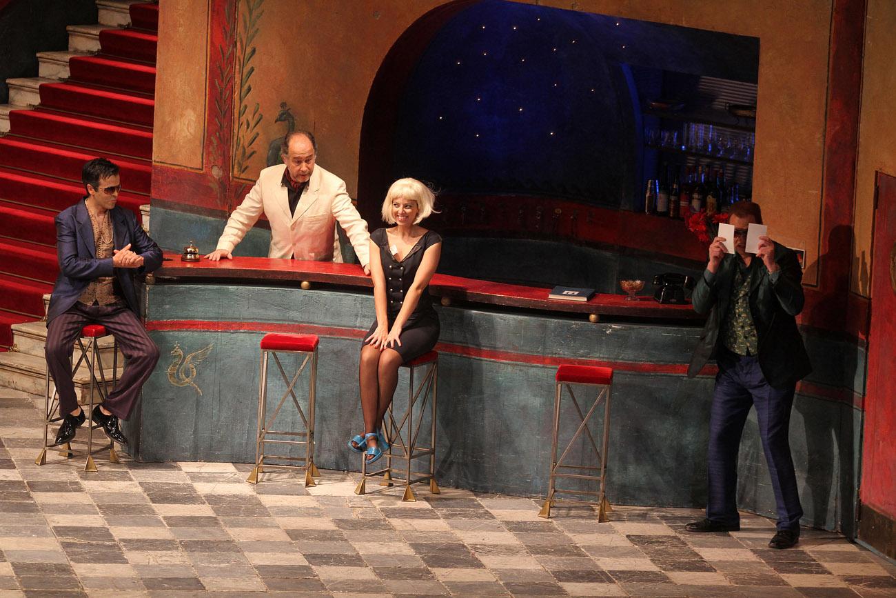 Despina, Così Fan Tutte, Mozart. Teatro Nacional de São Carlos, Lisboa. 2012